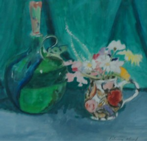 Jug of Flowers with Pot