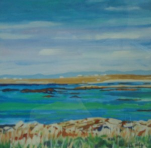 View from Upper Vaul, Isle of Tiree