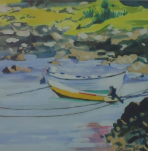 Two Boats, Scarinish Harbour, Isle of Tiree