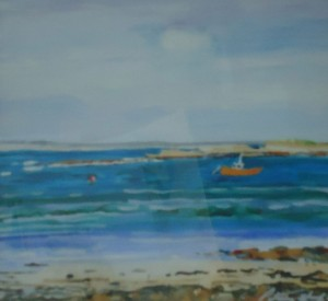 Fishing Boat, Caoles, Isle of Tiree